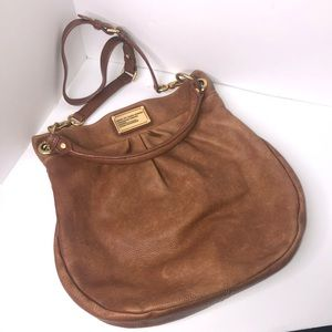 Marc Jacobs hobo hillier bag purse brown